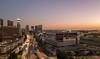 Los Angeles, Ferrante Demolition (STERLINGDAVISPHOTO) Tags: ferrante geoffpalmer losangeles dtla downtownlosangeles downtownskyline freeway 110fwy aerialphotography aerialview