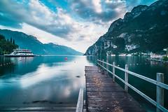 View of the lake. (Joschka_van_der_Lucht) Tags: alpen berge gardasee italien rivadelgarda see wasser color lake lakegarda mountain nature water trentinoaltoadige it