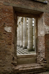 Witley Court 6/13 (Josieroo13 (Bear with me whilst I play catch up)) Tags: columns window framing uk england statelyhome manorhouse anenglishmanshome architecture englishheritage ruins worcestershire witleycourt brickwork