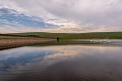 _DSC.0672  - Gorple Lower Reservoir (SWJuk) Tags: calderdaledistrict england unitedkingdom swjuk uk gb britain calderdale westyorkshire reservoir gorplelowerreservoir water flat calm reflections bluesky clouds damwall 2018 jun2018 spring nikon d7100 nikond7100 wideangle rawnef lightroomclassiccc 18300mm landscape waterscape countryside