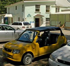 Kia Moke (D70) Tags: nikon d70 280850mm f3545 ƒ100 280mm 1400 200 kia moke picanto 10 liter petrol engine is available both automatic manual versions allmans saintlucy barbados