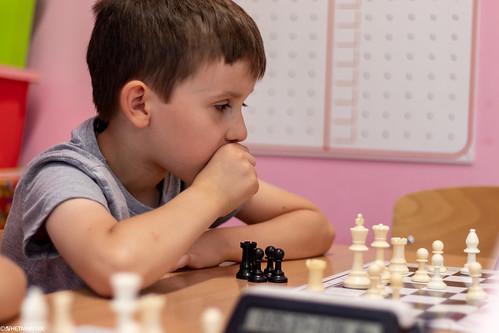 VIII Turniej Szachowy o Mistrzostwo Przedszkola Europejska Akademia Dziecka-43