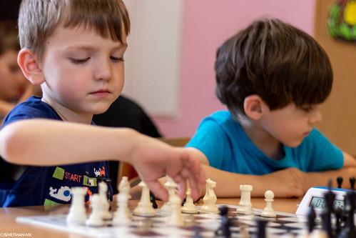VIII Turniej Szachowy o Mistrzostwo Przedszkola Europejska Akademia Dziecka-40