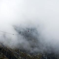 Skalnate Pleso (tomy kotlar) Tags: dramatic sky fog storm thunderstorm landscape moody sunrise hill mountain peak mist dawn cloud slovakia vysoke tatry hiking outdoor