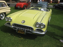 From 1958 (goldiesguy) Tags: goldiesguy gm automobile auto automobiles antique cars car classic classics carshow chevrolet corvette old outdoors vehicle vehicles