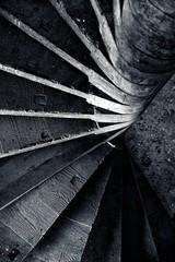 Concrete Stairway (stano szenczi) Tags: slovakia bzovik hont monastery fort concrete stairs