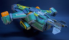 "J-338 ""Big Bird"" Heavy Dropship (S_P Brick Design House) Tags: lego mocs bricks afol space legospace"