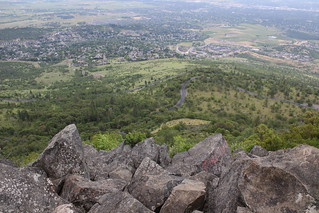 The view from Roxy Ann Peak's summit