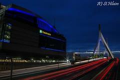 Zakim Bridge (Scoop Jr) Tags: zakim bridge i93 td garden bruins celtics boston nightlife city