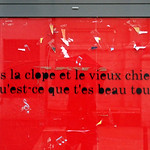 Words on wall by Petite Poissone [Lyon, France] thumbnail