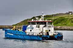 MCS Blue Norther - Aberdeen Harbour Scotland - 3/6/2018 (DanoAberdeen) Tags: mcsbluenorther danoaberdeen candid amateur 2018 aberdeen aberdeenscotland abdn abz aberdeencity aberdeenharbour grampian riverdee psv pocraquay autumn winter workboats weather wasser wss ecosse escocia escotia river tug transport tugboats uk iskoçya offshore oilships oilrigs offshoreships port scotland summer scotia seafarers seaport schotland docks footdee freshair fittie geotagged granitecity harbour haulage skottland szkocja stoczni cargoships clouds vessels vts bluesky boats blue northsea northseasupplyships maritime merchantnavy vessel ships ship boat