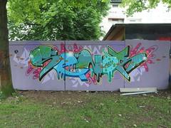 SENOR (mkorsakov) Tags: dortmund nordstadt graffiti wand wall bunt colored piece legal senor