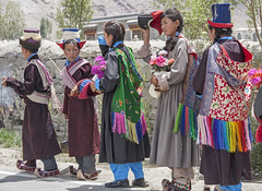 Special occasion (bag_lady) Tags: sumur schoolchildren ladakhi traditionaldress nubravalley ladakh buddhist specialoccasion culture india lamdonmodelschool jammuandkashmir explore