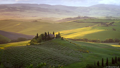 val d'Orcia-016 (bonacherajf) Tags: italia italie valdorcia tuscany toscane sunset down poderebelvedere