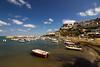 Peschici (paolotrapella) Tags: peschici gargano mare italia acqua barche boats cielo clouds sky nuvole beach