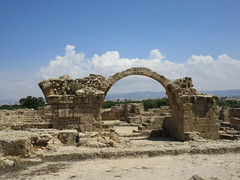 Ruined arch, Saranta Kolones Fortress, Paphos, Cyprus (Paul McClure DC) Tags: πάφοσ paphos pafos cyprus may2018 historic castle architecture