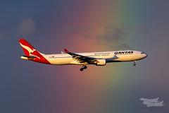 VH-QPC QF A333 16L YSSY-1354 (A u s s i e P o m m) Tags: qantas qf airbus a333 syd yssy sydneyairport