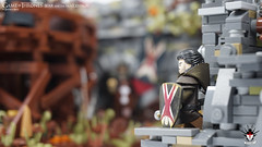 Game of Thrones - Bear and the Maiden Fair - by Barthezz Brick 23 (Barthezz Brick) Tags: lego legos game thrones gameofthrones geek moc afol custom minifig minifigure minifigures house bolton lannister tarth jaime brienne locke castle medieval fantasy got bear maiden fair barthezz brick barthezzbrick sword spear crossbow shield armor