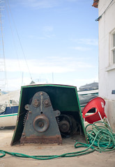 Port Face (Ryan McGoverne Photo) Tags: object face things human industry pareidolia anthropomorphic anthropomorphism docks port setubal portugal