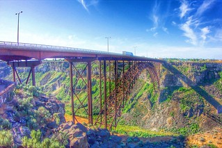 Perrine Memorial Bridge ~ Highest Bridge in Idaho ~ Twin Falls ID