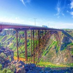 Perrine Memorial Bridge ~ Highest Bridge in Idaho ~ Twin Falls ID thumbnail