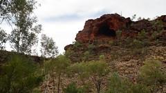 Day 3, Cave in Finke Gorge, (Brian).