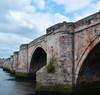 DSC_8499 (Fergus Sturrock) Tags: nikond7100 berwick upon tweed river bridge shore sea buildings