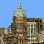 Vancouver British Columbia- The Sun Tower - 1912_ Beaux Arts Architecture thumbnail