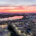 Sunrise over the Mystic River