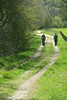 Team Along the Spey (rich_brame) Tags: alumni aviemore nols scotland woman hiker trail spey speyside grass