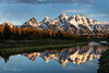 Teton Sunrise (RH Miller) Tags: rhmiller reedmiller landscape mountains tetons grandteton tetonmountainrange water snakeriver reflection grandtetonnationalpark wyoming usa