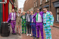Colourful - DSC_0002 [Flickr Explore -28th May 2018] (John Hickey - fotosbyjohnh) Tags: 2018 dublin gcc may2018 street ireland irelandtourism strangers group streetscape colours nikon suit multicolours flickrexplore explore