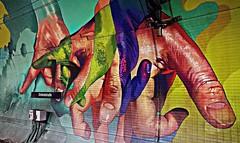 Frankfurt 2018.05.20. Mural 11.2 - Artists Case Ma'Claim, DOES, 2016 (Rainer Pidun) Tags: mural streetart urbanart publicart frankfurt