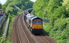 GBRF 66759 - Mansfield (the mother '66' 66001) Tags: gbrf mansfield robinhoodline railways rail 6e89 wellingborough rylstone nottinghamshire