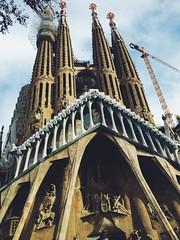 (maycambiasso98) Tags: catalunia barcelona spain españa nueva iglesia new church sagradafamilia familia sagrada