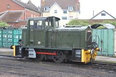 BARCLAY 579 MINEHEAD 310518 (David Beardmore) Tags: andrewbarclay dieselengine dieselelectric diesellocomotive dieselshunter westsomersetrailway wsr