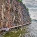 rock climbers Henriksdal (Danvikskanalen)