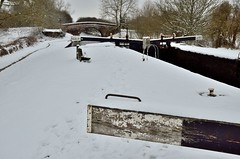 2018 03 18 059 KA Canal, snow (Mark Baker.) Tags: 2018 avon baker benham berkshire eu europe kennet kennetandavon lock march mark newbury bridge britain british canal cold day england english european gb great kingdom outdoor photo photograph picsmark rural snow spring uk union united