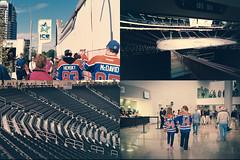 Rogers Place open house Sept 2016 (RCubedPhoto) Tags: film ltm kodak kodakmax iso400 pakon f135 analog rangefinder 50mm oilers rogers rogersplace nhl stadium