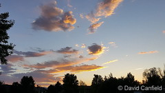 June 4, 2018 - A nice looking sunset from Broomfield. (David Canfield)