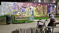 Samuel Idmtal & Orlando Kintero / Forest - 19 mai 2018 (Ferdinand 'Ferre' Feys) Tags: bxl brussels bruxelles brussel belgium belgique belgië streetart artdelarue graffitiart graffiti graff urbanart urbanarte arteurbano ferdinandfeys bestof2018be