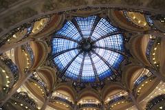 Paris No 14 (• CHRISTIAN •) Tags: paris france bnf bibliothèquenationaledefrance galleries lafayette magasin store coupole architecture art grandangle wideangle