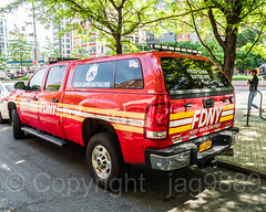 FDNY Field Communications Battalion Vehicle, Downtown Brooklyn, New York City (jag9889) Tags: 2018 20180608 auto automobile bravest brooklyn car communications downtownbrooklyn fdny firedepartment firedepartmentofthecityofnewyork firefighter firstresponder gmc gmcsierra generalmotors kingscounty metrotechcenter ny nyc newyork newyorkcity newyorkcityfiredepartment newyorksbravest outdoor transportation tree usa unitedstates unitedstatesofamerica vehicle woman jag9889