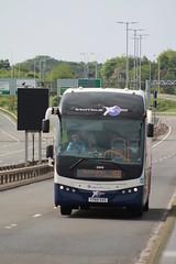 Fife Scottish Omnibuses Ltd - 53810 - YY65SXS; Forth Road Bridge; 09-06-2018 (graeme8665) Tags: stagecoachfife forthroadbridge stagecoachexpress volvob11r plaxtonelite