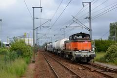 BB64610 et BB63938 + TDGR à Pont d'Ardres
