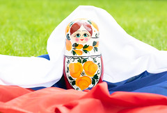 Matryoshka with Russian flag.jpg (marcoverch) Tags: grass wooden traditional flag doll russia russian matryoshka summer sommer gras color farbe noperson keineperson leisure freizeit outdoors drausen child kind healthy gesund food lebensmittel fun spas toy spielzeug recreation erholung nature natur football fusball relaxation entspannung sport park cup tasse flagge lawn rasen moon naturaleza festival bicycle outside autumn classic españa hill countryside