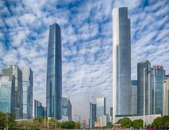 CBD (Guangzhou, China. Gustavo Thomas © 2018) (Gustavo Thomas) Tags: cbd huachang guangzhou guangdong china chinese city cityscape buildings day colour urban asia