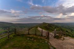Far horizons (trojanhorse1956) Tags: ridge great the tor mam district peak sunset nikon d750 gate path