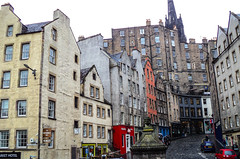 Edinburgh 2013 (MariaMargy) Tags: street scotland edinburgh travel october grey rain autumn fall uk