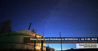 Photo Travel to Mongolia - Join me JUL 9-20 2018